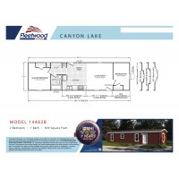 Fleetwood Home 14482B Manufactured Home Floor Plan