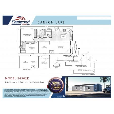 Canyon Lake 24502K