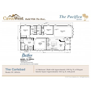 The Carlsbad PC-28543A