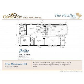The Mission Hills PC-28583B