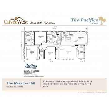 Cavco Mission Hills PC-28583B