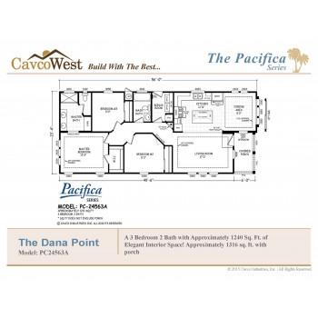 Cavco Dana Point PC-24563A