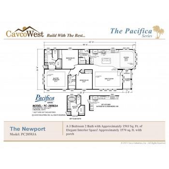 Cavco Newport PC-28583A