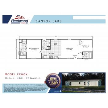 Fleetwood Home 15562X Manufactured Home Floor Plan