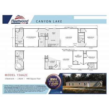 Fleetwood Home 15662C Manufactured Home Floor Plan