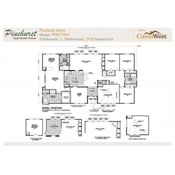 Cavco Pinehurst PH-40744A