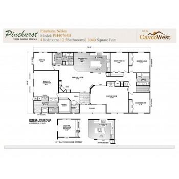 Cavco Pinehurst PH-40764B